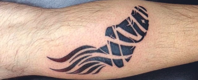 40 Running Tattoos For Men – Ink Design Ideas In Motion