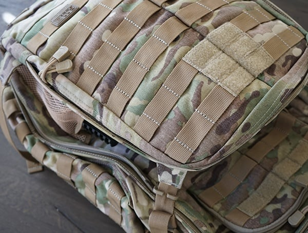 Rush72 Backpack 5 11 Tactical Expanded Compartment With Combat Helmet