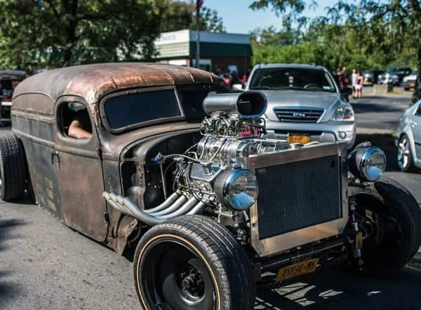 Rust Patina Exterior Badass Rat Rods