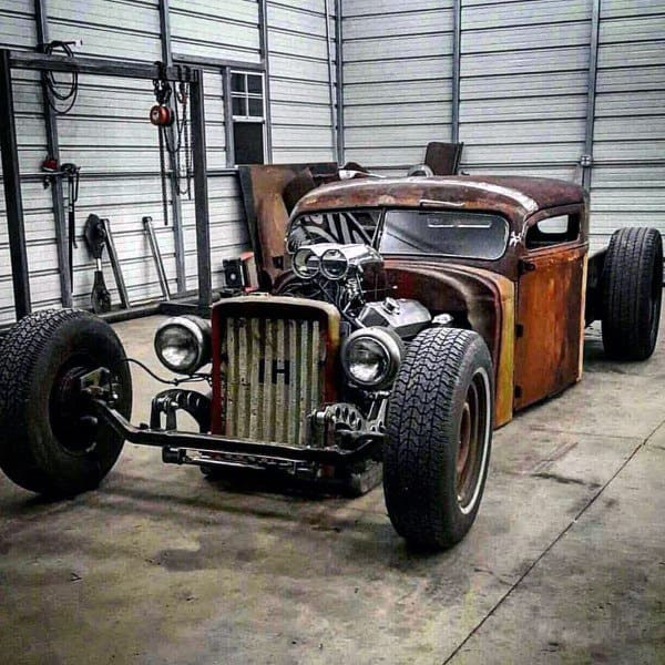 Rusted Awesome Badass Rat Rods