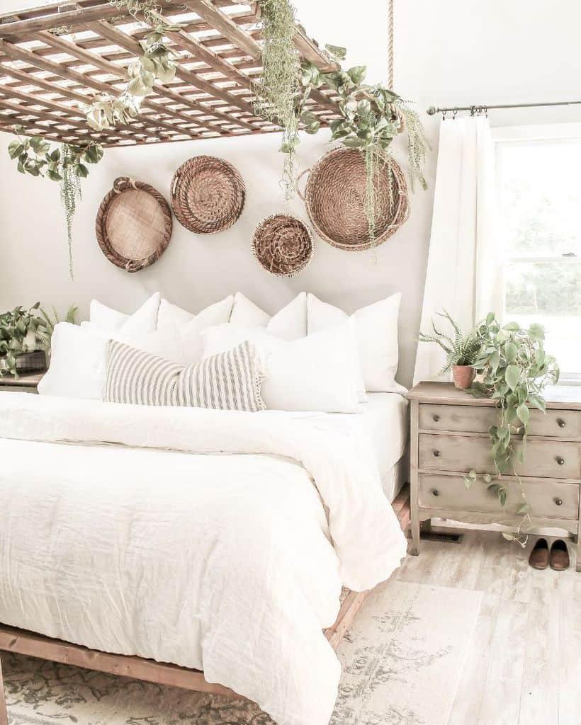 rustic and natural decor for boho bedroom boho bedroom ideas cedarmilllane