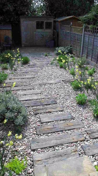 top 50 best wooden walkway ideas - wood path designs