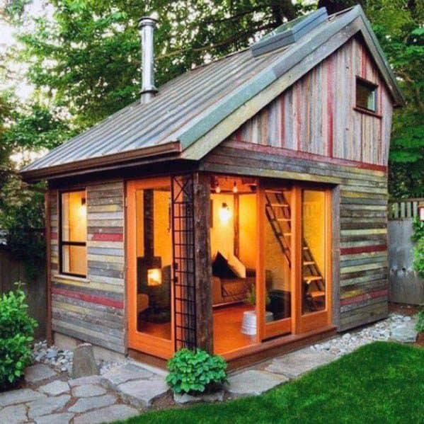 Rustic Backyard Shed Ideas