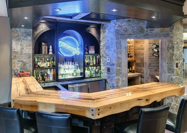Rustic Bar Idea Inspiration