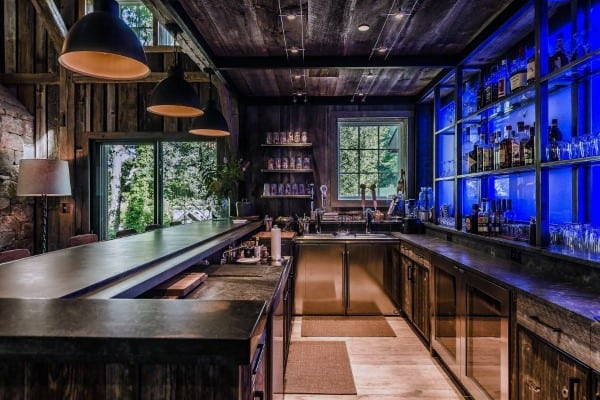 Rustic Bar Ideas For Basement