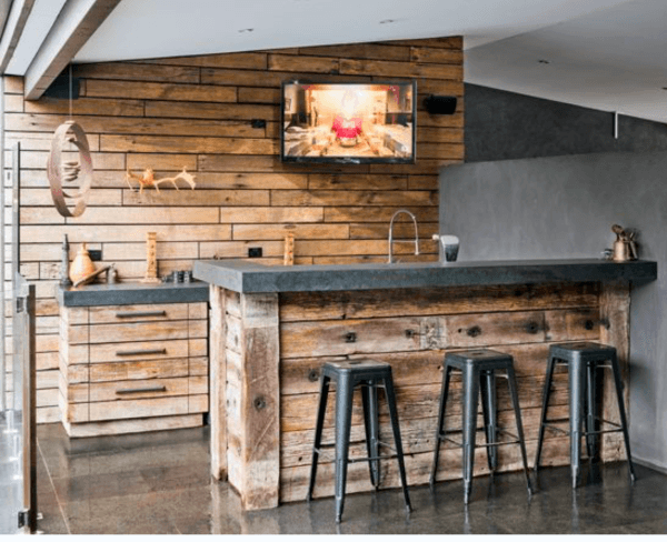 Rustic Bar Ideas