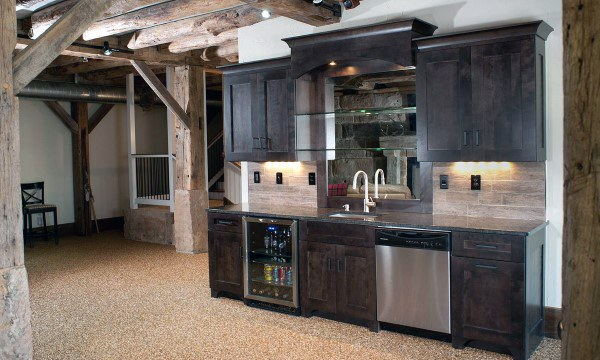 Top 60 Best Rustic Basement Ideas