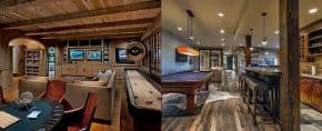 Top 60 Best Rustic Basement Ideas – Vintage Interior Designs