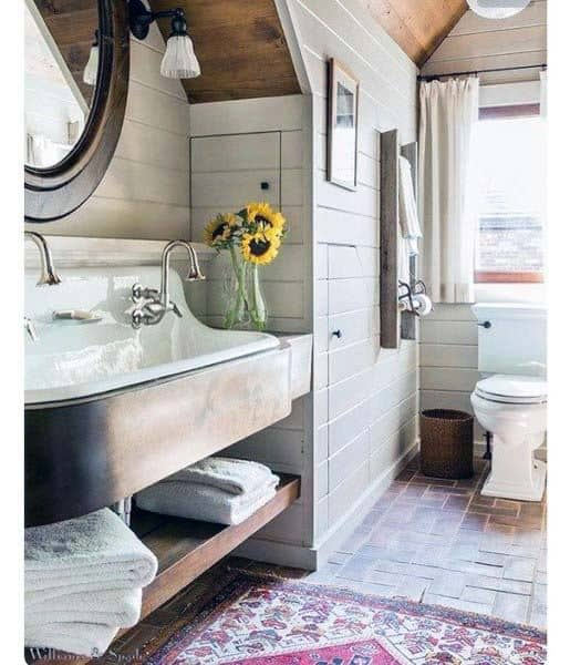 Rustic Bathroom Design Ideas