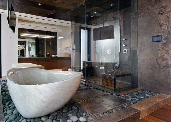 Rustic Bathroom Design Inspiration