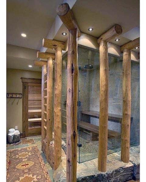 Small Rustic Bathroom Ideas: Top 70 Best Rustic Bathroom Ideas