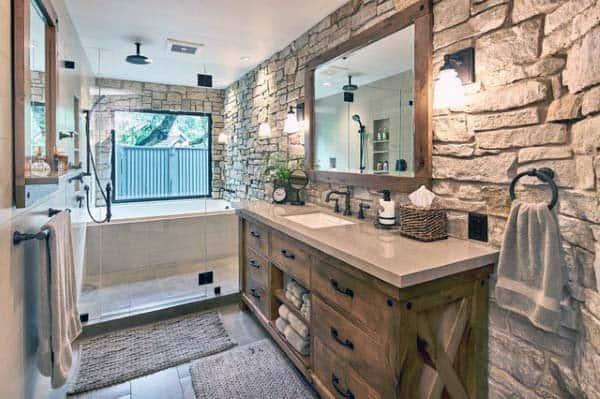 Rustic Bathroom Idea Inspiration