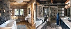 Top 70 Best Rustic Bathroom Ideas – Vintage Designs
