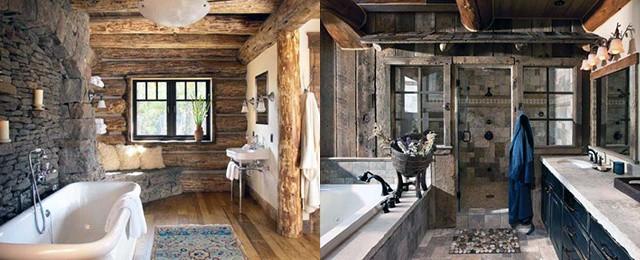 Top 70 Best Rustic Bathroom Ideas