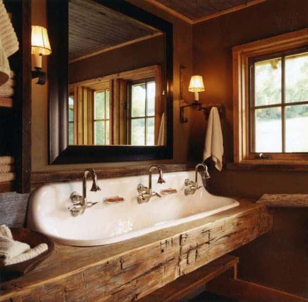 Rustic Bathroom Vanities Ideas