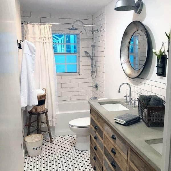 Rustic Bathroom Vanity Designs