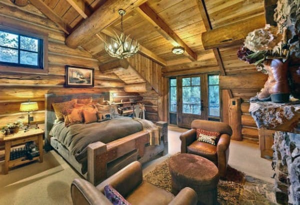 Rustique Chambre à coucher Design Inspiration