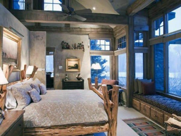 Rustique Chambre à coucher Design
