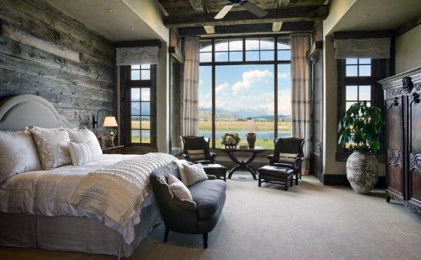 Rustique Chambre à coucher Designs