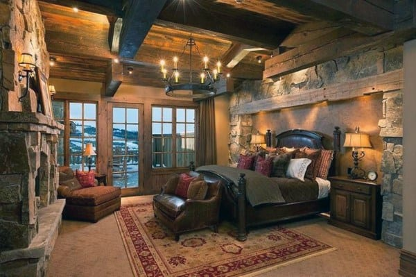 Rustic Bedroom Idea Inspiration