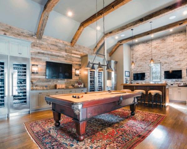 Rustic Billiards Room Ideas