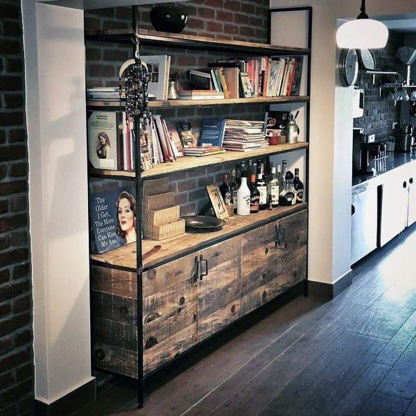 Rustic Bookshelf Ideas