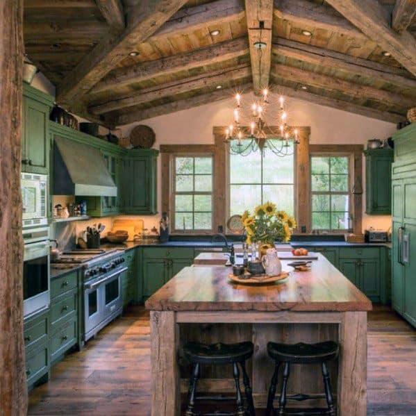 Basement Decor Ideas: Top 50 Best Rustic Ceiling Ideas