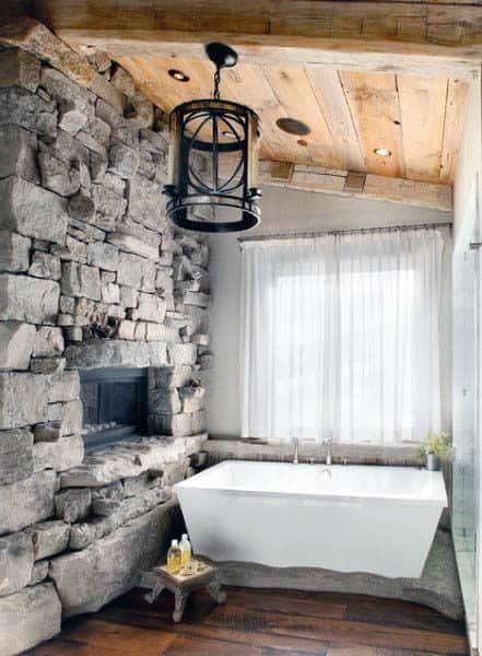 Rustic Chic Bathroom Ideas