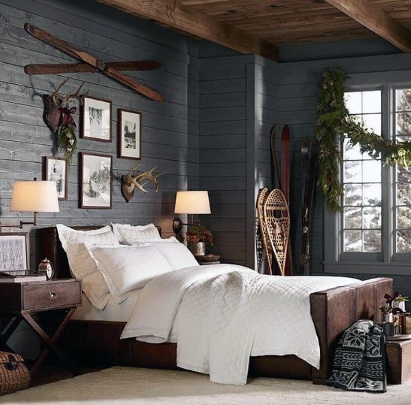 rustic and boho bedroom wall decor ideas