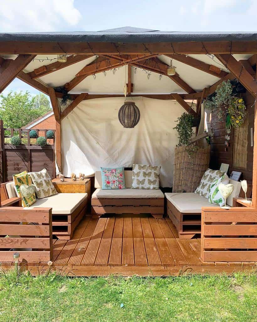 rustic covered patio ideas jenniferwildingg_