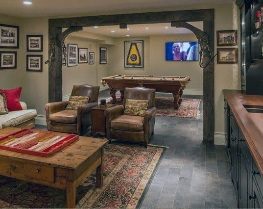 Rustic Design Ideas For Basements