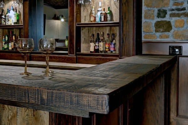 Rustic Designs For Bars