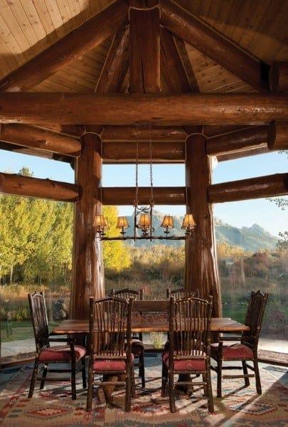 Rustic Dining Room Decor Ideas