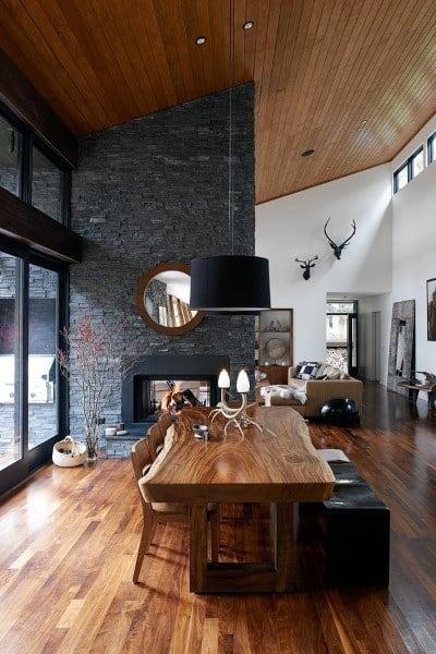 Rustic Dining Room Design Ideas