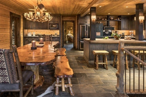 Rustic Dining Room Design Inspiration