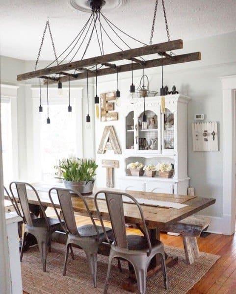 Rustic Dining Room Idea Inspiration
