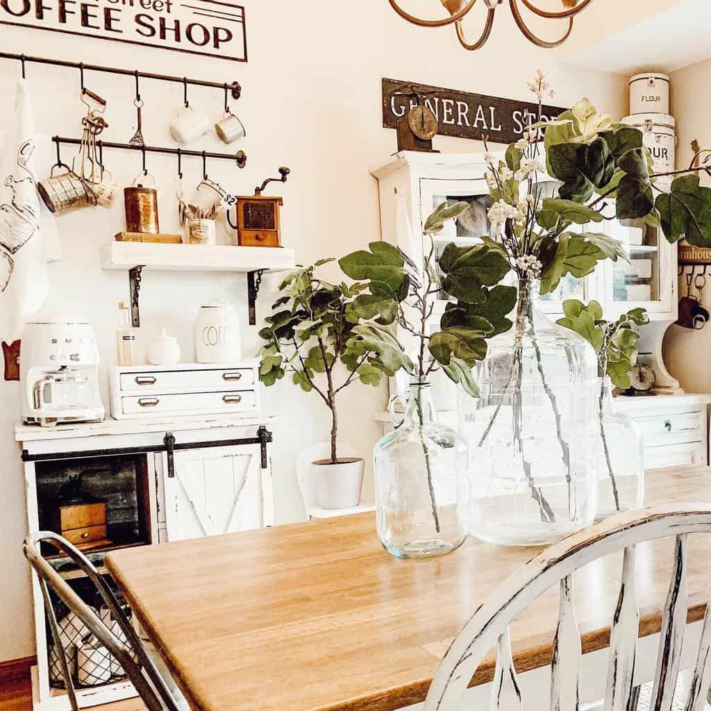 rustic dining room ideas armywife_lyfe