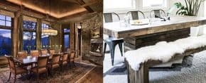 Top 40 Best Rustic Dining Room Ideas – Vintage Home Interior Designs