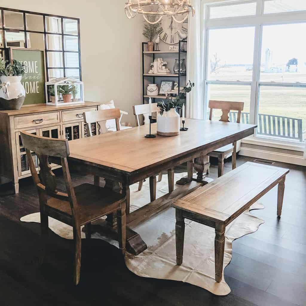rustic dining room ideas homestylesllc