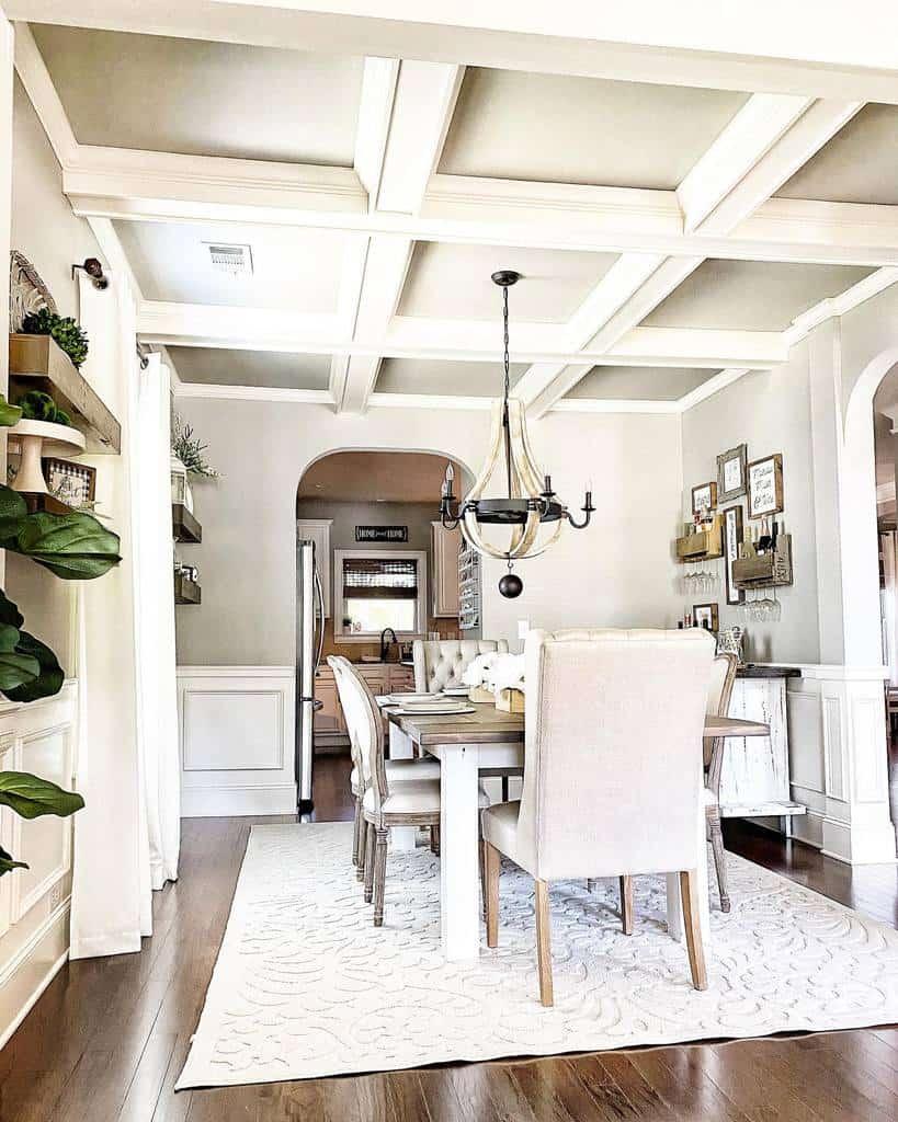 rustic dining room ideas jmilesdesign