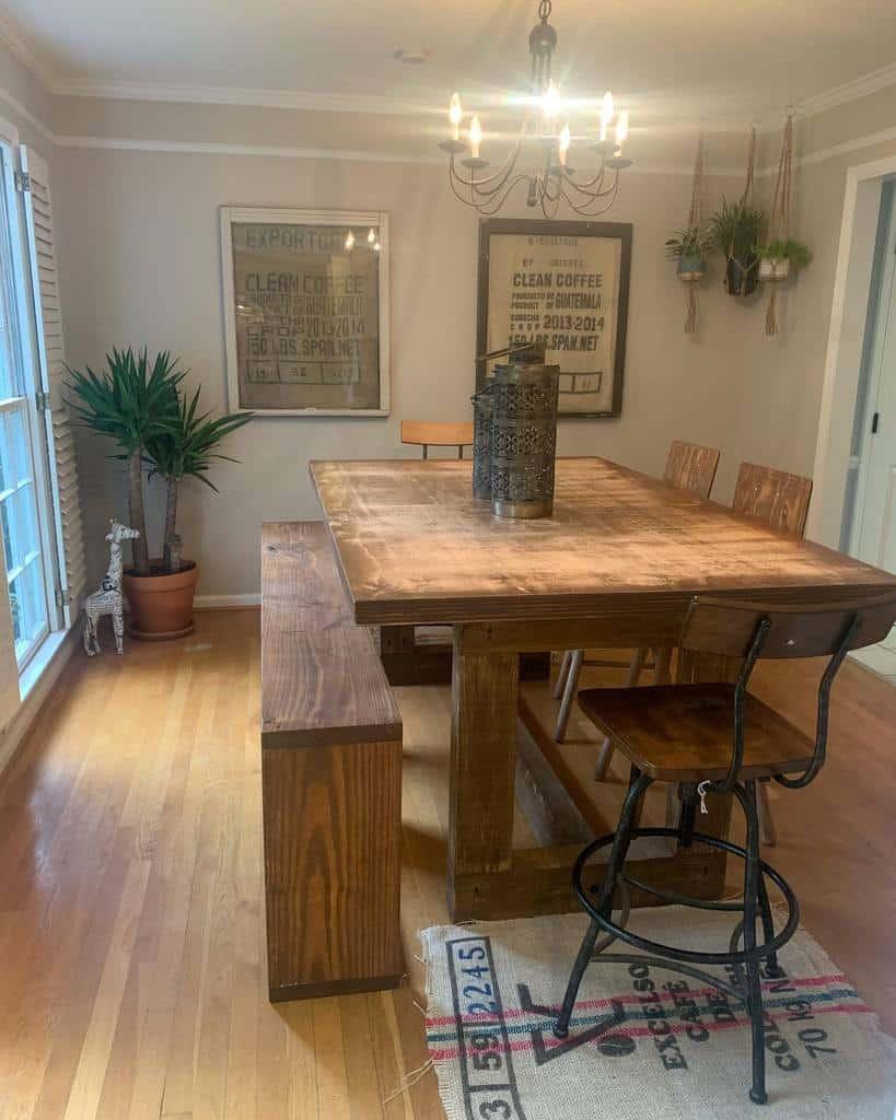 rustic dining room ideas moncurfab4
