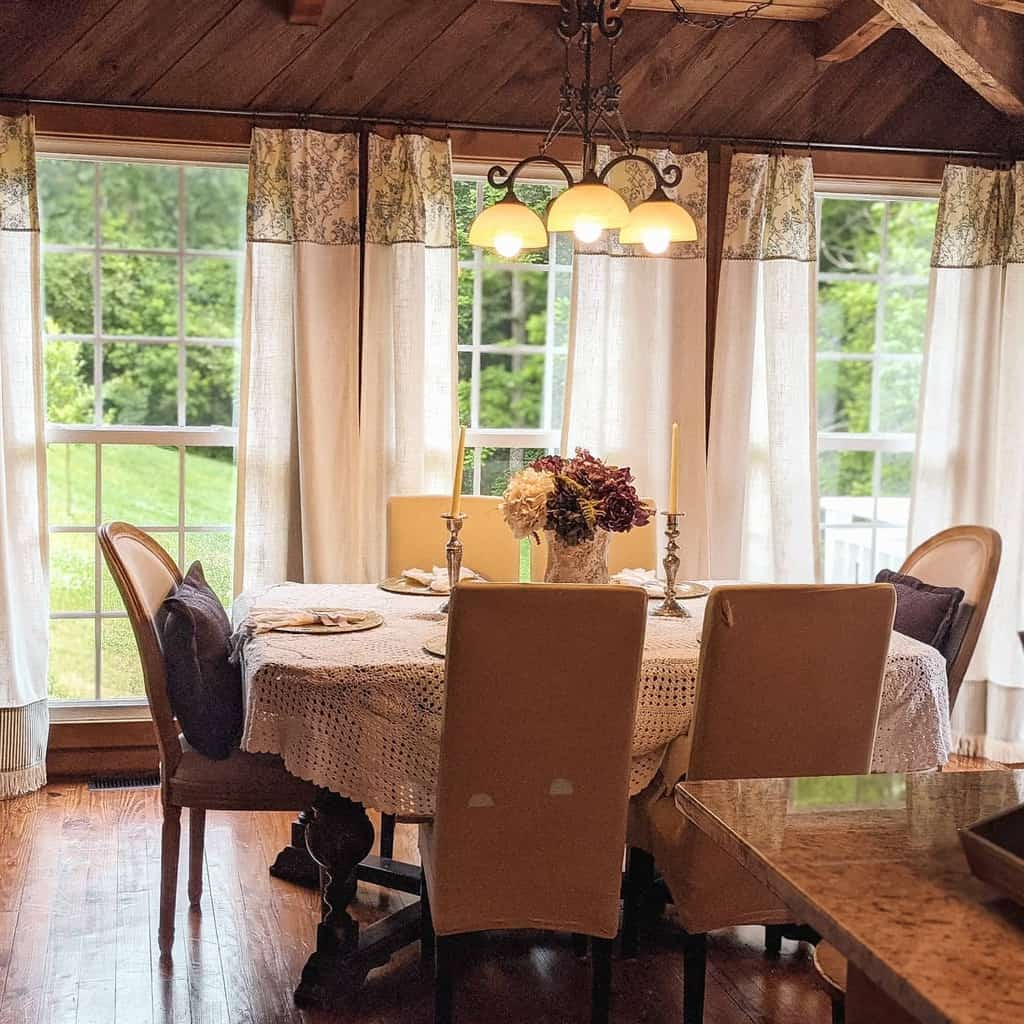rustic dining room ideas thecoppernest