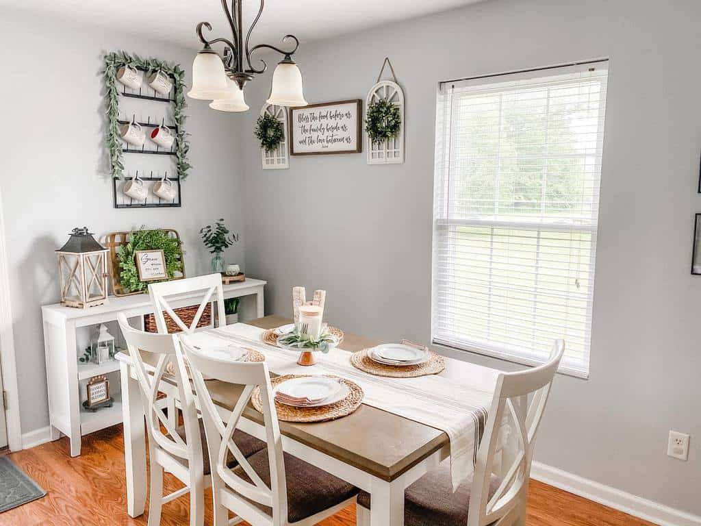 rustic dining room wall decor ideas kali_weisenberger
