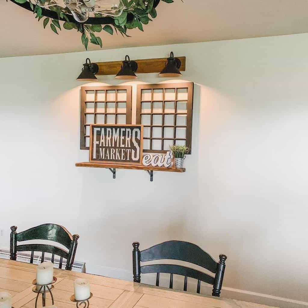 rustic dining room wall decor ideas lynettecarpenter77