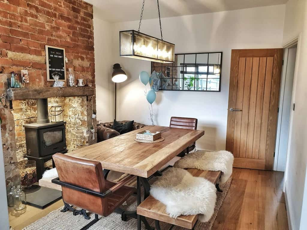 rustic dining room wall decor ideas teampreece