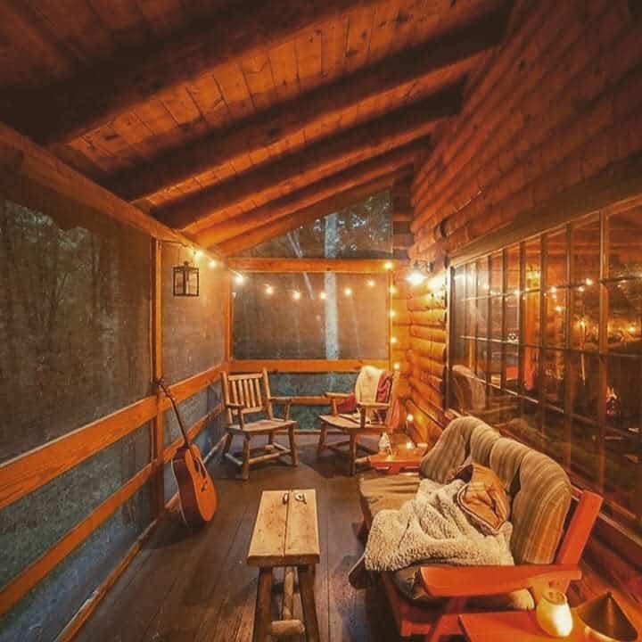 rustic enclosed patio ideas seasonal_witch