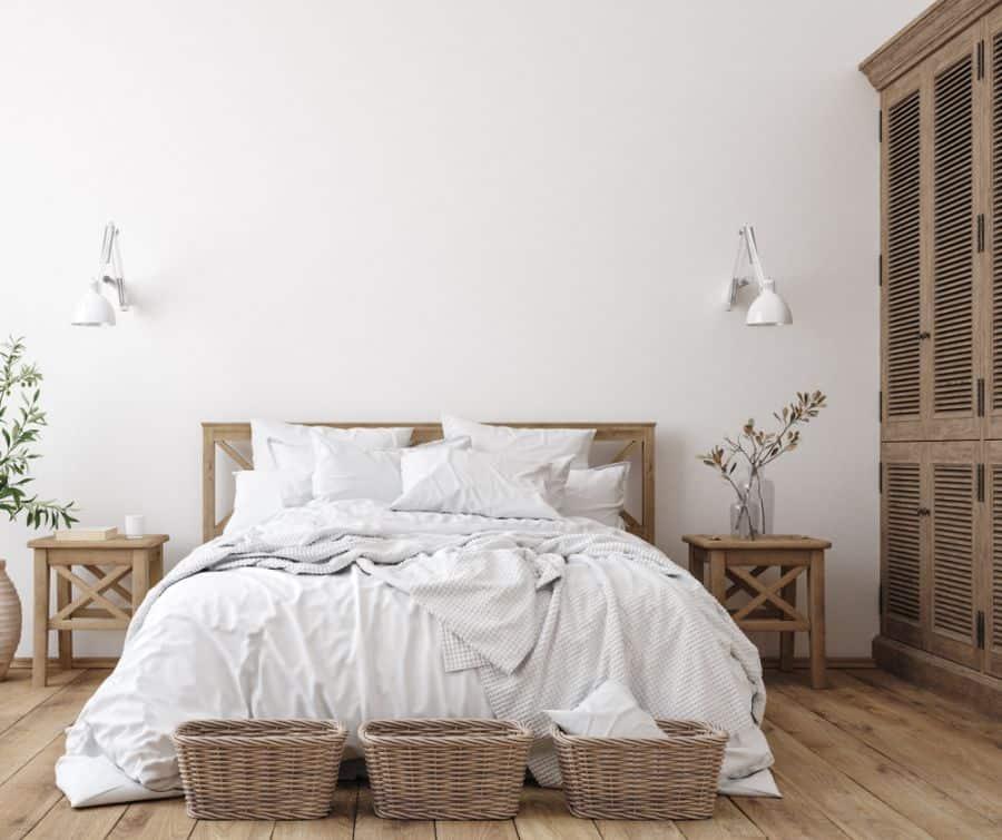 rustic farmhouse bedroom ideas 1