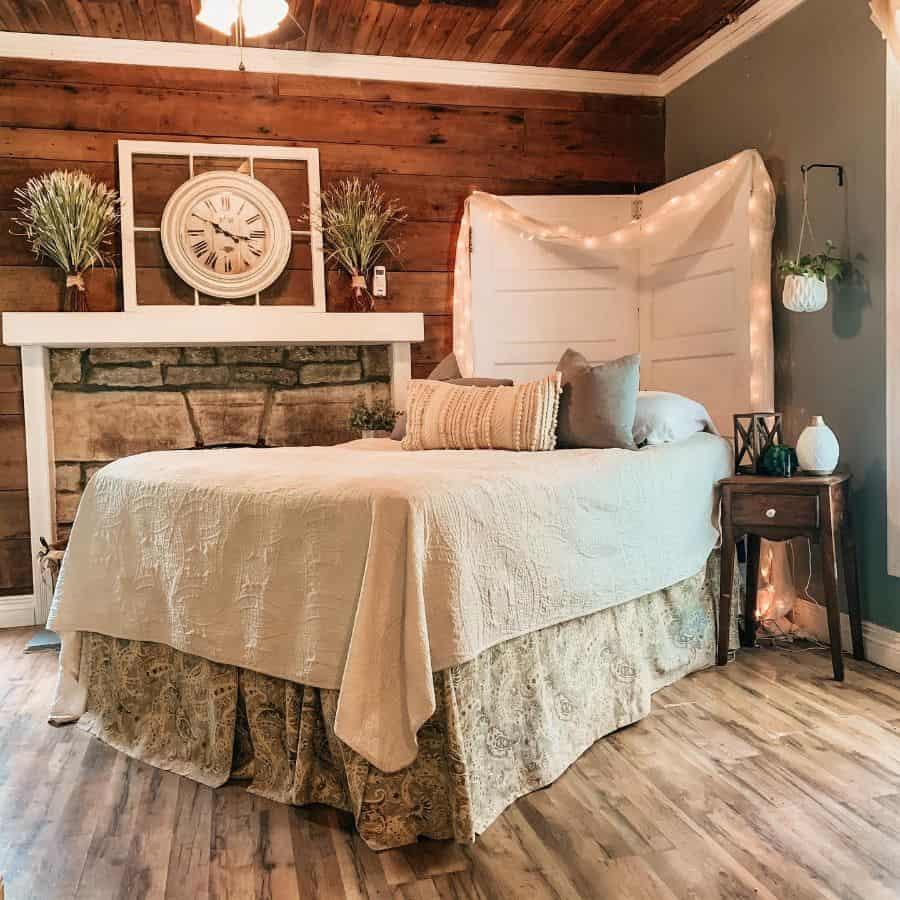 rustic farmhouse bedroom ideas _mallorylee