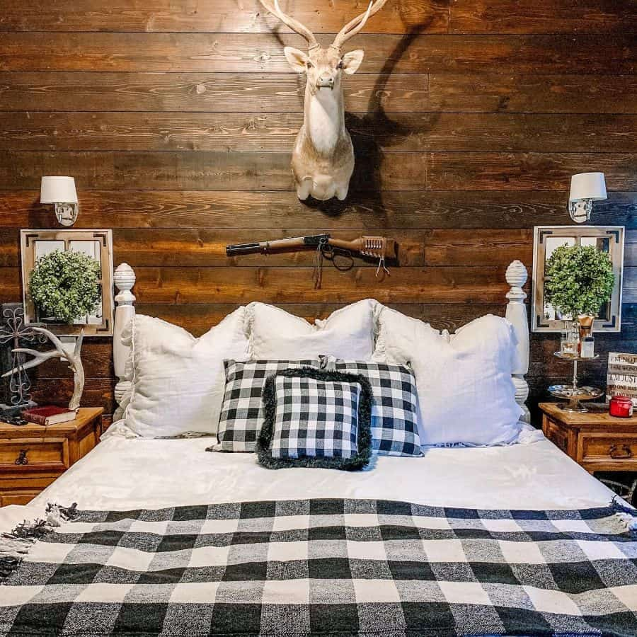 rustic farmhouse bedroom ideas brandijohale