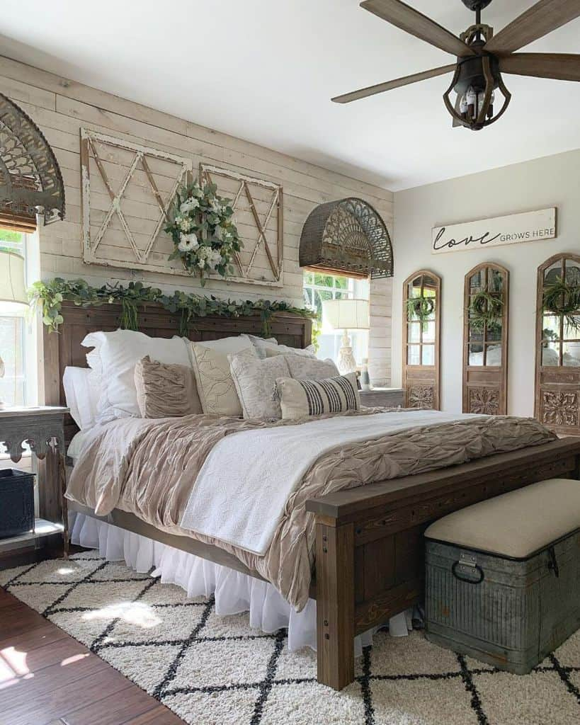 rustic farmhouse bedroom ideas ourrusticparadise